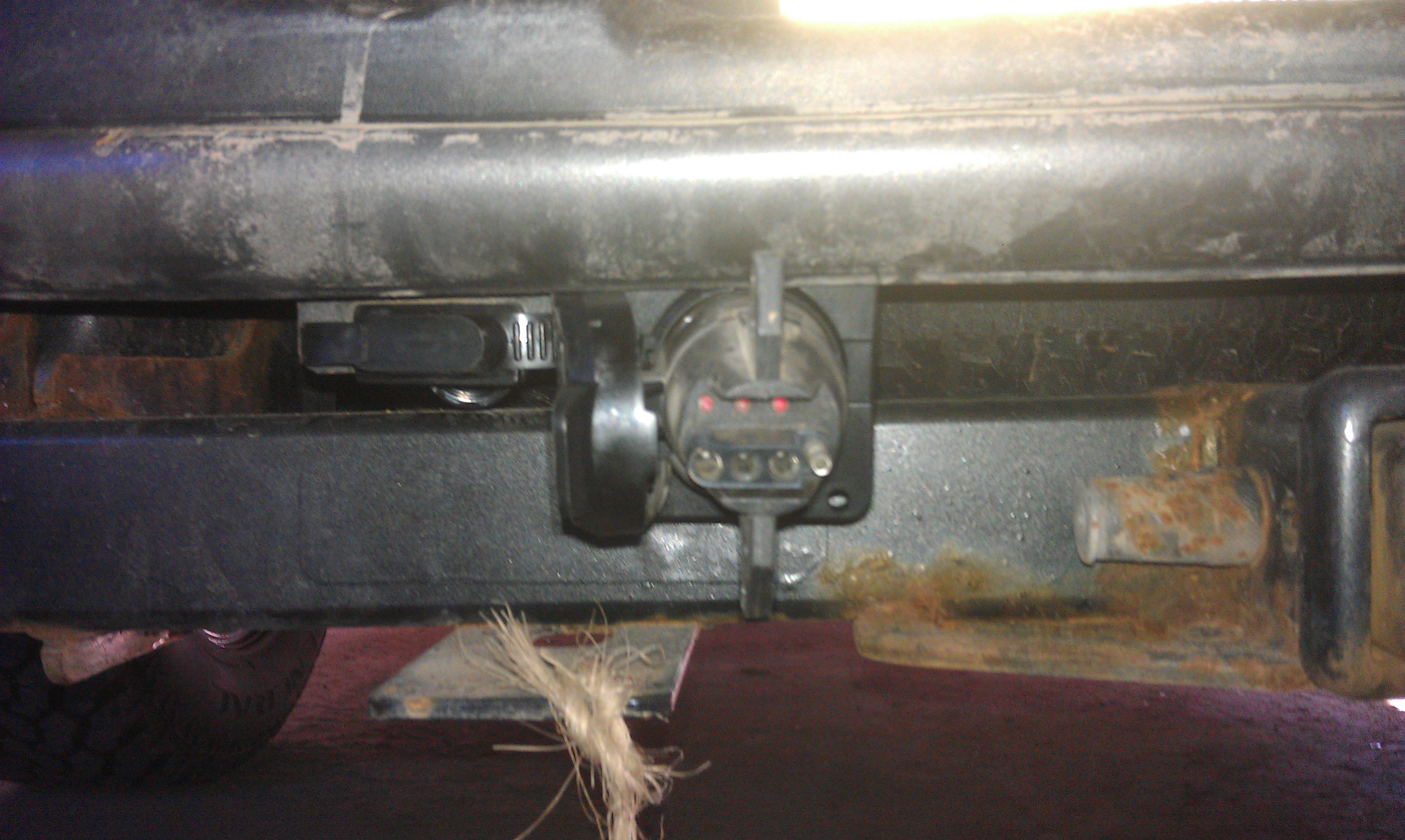 2007 F150 Quick Trailer Wiring Install F150online Forums Seven Prong Diagram Printable