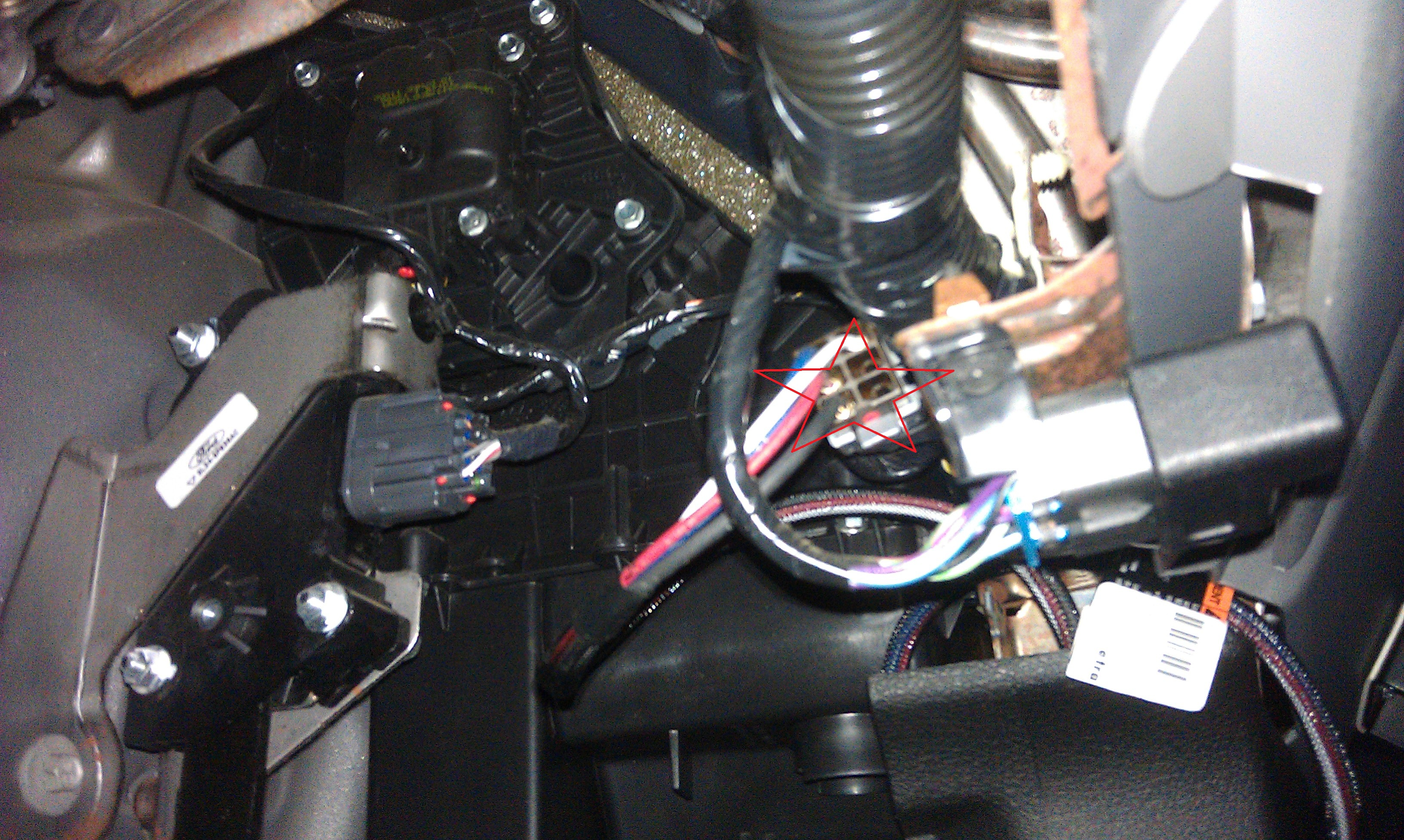 IMAG0058 2007 f150 quick trailer wiring install f150online forums 2015 f150 trailer wiring harness at fashall.co